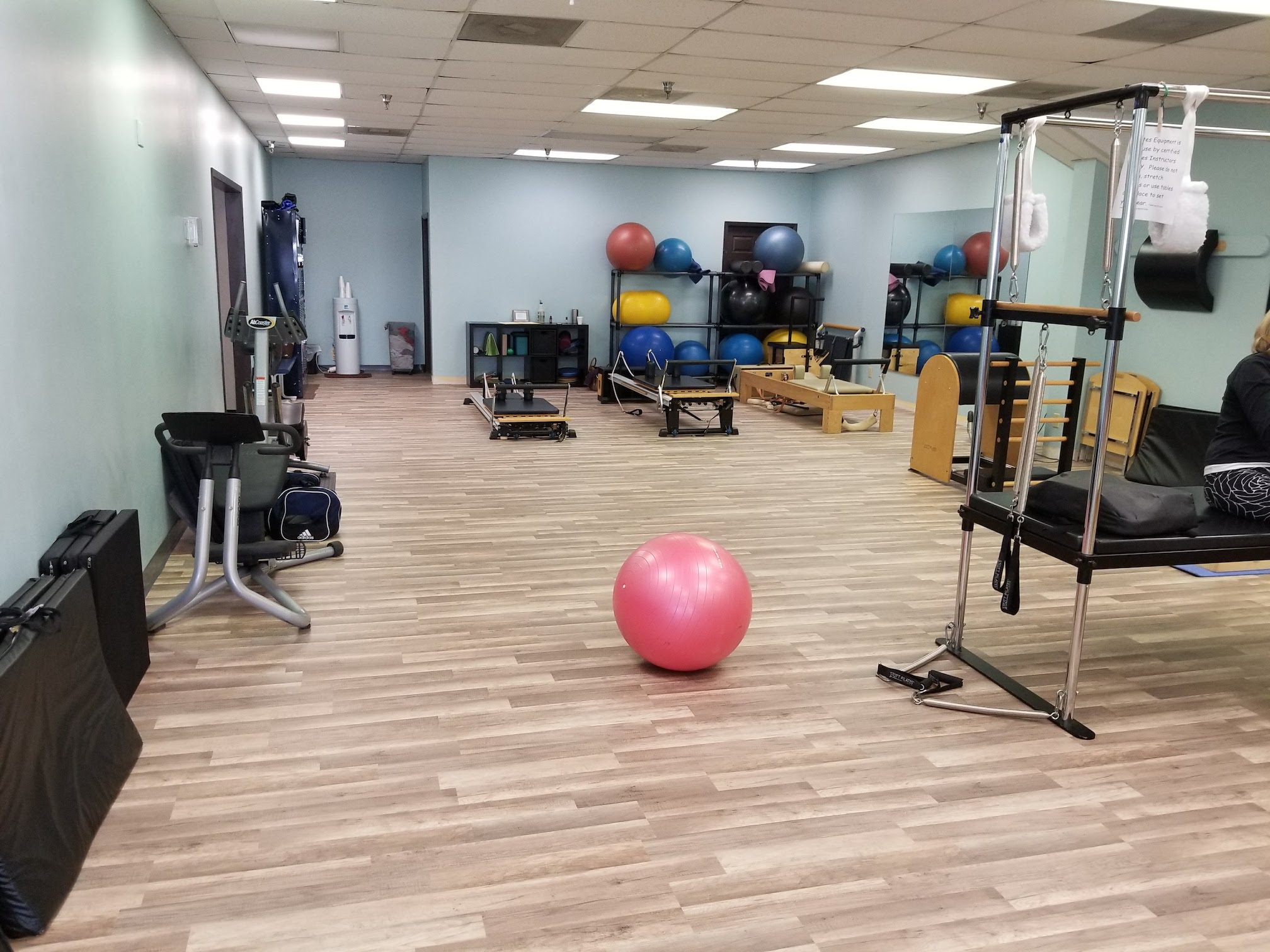 Dallas Pilates Training Image